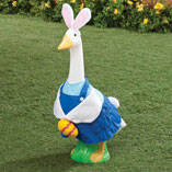 Easter Bunny Boy Goose Outfit