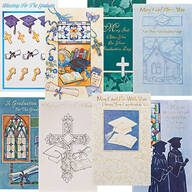 Religious Graduation Card Assortment, Set of 24