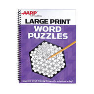 AARP Large Print Word Puzzles