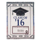 Personalized 2016 Graduation Afghan