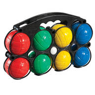 Bocce Ball Lawn Game Set with Carrying Case