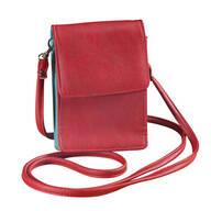 RFID Blocking On-the-Go Crossbody Bag