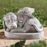 Resin Dog Memorial