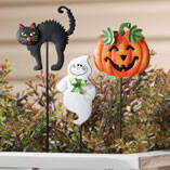 Halloween Plant Stakes by Maple Lane Creations™, Set of 3