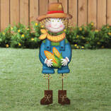 Scarecrow Boy Yard Stake by Maple Lane Creations™