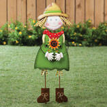 Scarecrow Girl Yard Stake by Maple Lane Creations™