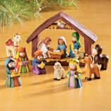 Resin Tabletop Nativity Set