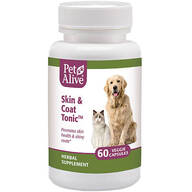 PetAlive® Skin and Coat Tonic™ - 60 Veggie Capsules