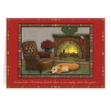The Empty Chair Personalized Christmas Card - Set of 20