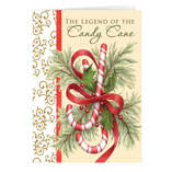 The Legend of the Candy Cane Personalized Christmas Card - Set of 20