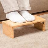 Folding Footrest by OakRidge Accents