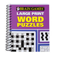 Brain Games™ Large Print Word Puzzles