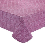 Tonal Medallion Vinyl Table Cover