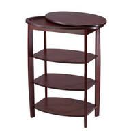 Wooden Swivel Table by OakRidge Accents™