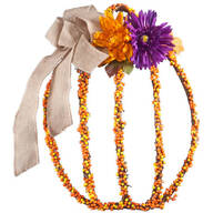 Pumpkin Grapevine Wreath