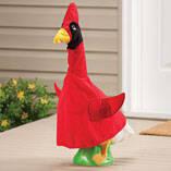 Cardinal Goose Outfit