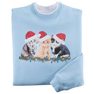 Joyous Kittens Sweatshirt