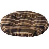 Plaid Bar Stool Cushion