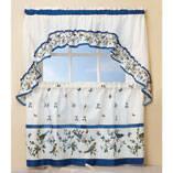 Love Birds Kitchen Curtain & Swag 3-pc. Set