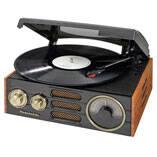 Studebaker 3-Speed Turntable with AM/FM Radio