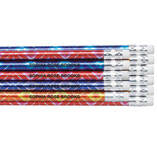 Personalized Bedazzled Glitz Pencils, Set of 12