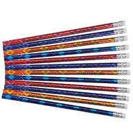 Personalized Bedazzled Glitz Pencils, Set of 12