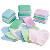 24-Pc. Sponge and Cleaning Mitt Set