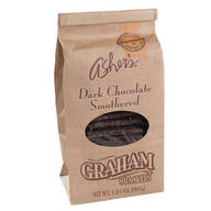 Asher's® Dark Chocolate Covered Graham Crackers