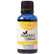 Healthful™ Naturals Lemon Essential Oil, 30 ml