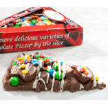 Chocolate Pizza® Candy Avalanche Pizza Slice