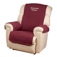 Personalized Warm Color Recliner Cover by OakRidge™ Comforts