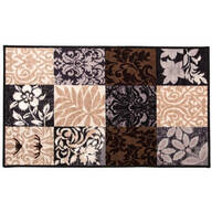 Patch Print Accent Rug