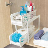 2-Tier Sliding Shelves