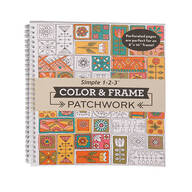 Color & Frame Patchwork Coloring Book