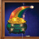 Pot of Gold Rainbow Shimmer Light by Northwoods Illuminations™