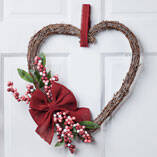 Heart Grapevine Wreath