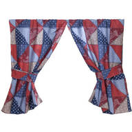 Americana Window Curtains