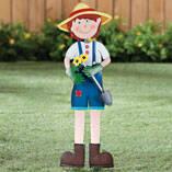 Garden Boy Stake by Maple Lane Creations™
