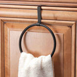 Over-the-Cabinet Towel Ring