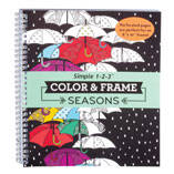 Color & Frame Seasons Coloring Book