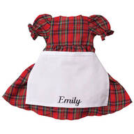 Personalized Big Sister Plaid Dress