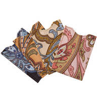 Paisley RFID Sleeves - Set of 4