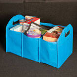 Turquoise Collapsible Trunk Organizer with Cooler