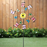 Butterfly Windspinner Stake by Maple Lane Creations™