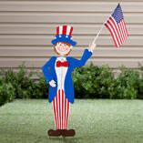 Uncle Sam Garden Boy by Maple Lane Creations™