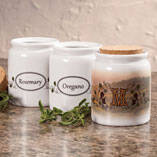 Personalized Tuscan Sunset Spice Holder