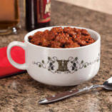 Personalized Tuscan Sunset Chili Bowl
