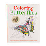 Coloring Butterflies Coloring Book