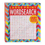 Large Print Wordsearch Book