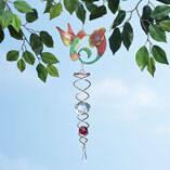 Hummingbird Crystal Wind Spinner